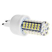 g9 llevó luces de maíz t 102 smd 3528 420lm blanco natural 6000k ca 110-130 ca 220-240v