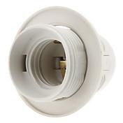 E27 Belysningsutstyr Lysstikkontakt Plast