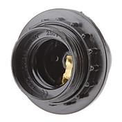 E27 del sostenedor de bulbo del zócalo de lámpara (4A 250V)