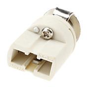 G9 Belysningsutstyr Lysstikkontakt Keramikk
