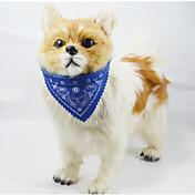 애완견용 토템디자인의 조절가능한 반다나 개목걸이 (여러색상)