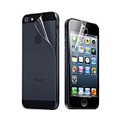 Skjermbeskytter Apple til iPhone 6s Plus iPhone 6 Plus iPhone SE/5s Front- og bakbeskyttelse Høy Oppløsning (HD)