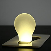 luz de la tarjeta clip de led (color al azar)