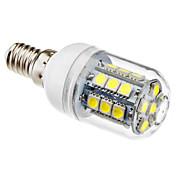 3W 5500lm E14 Bombillas LED de Mazorca T 27 Cuentas LED SMD 5050 Blanco Natural 220-240V