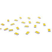 diy 0,5w 5730smd 50lm 3000k varm hvit lys ledemitter (20pcs)
