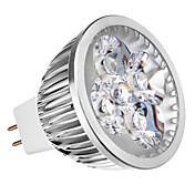 4W 350-400lm lm Focos LED leds Regulable Blanco Cálido 12V