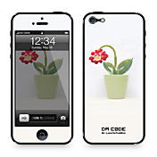 """El Código Da ™ Skin para el iPhone 4/4S: """"Flor Potten"""" (Serie Creativo)"""