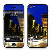 """El Código Da ™ Skin para el iPhone 5/5S: """"Champs Elysee en la noche"""" (serie de la ciudad)"""