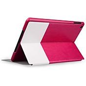 Caso de cuero del Toothpick Grano de cuerpo completo para iPad Aire (colores surtidos)