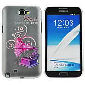 Etui Til Samsung Galaxy Samsung Galaxy Note Drømmefanger Drømmefanger Myk TPU til Samsung Galaxy
