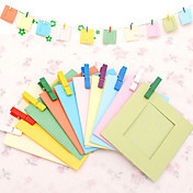 DIY Colorful 3 pulgadas 10 Patrón Paquete Paisaje Hanging Frame Photo Paper