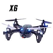 RC Dron X6 4 Canales 6 Ejes 2.4G Con Cámara Quadccótero de radiocontrol  Quadcopter RC Mando A Distancia