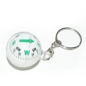 ball stil kompass nøkkelring-assortert farge