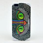 Para Funda iPhone 5 Diseños Funda Cubierta Trasera Funda Gato Dura Policarbonato iPhone SE/5s/5