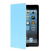 Etui Til Apple iPad Mini 4 iPad Mini 3/2/1 med stativ Origami Heldekkende etui Helfarge Hard PU Leather til iPad Mini 4 iPad Mini 3/2/1