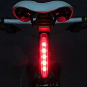 Sykkellykter sikkerhet lys Baklys til sykkel LED Sykling LED Lys AAA Lumens Batteri Sykling - MOON