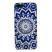 Funda Para iPhone 5 Apple Funda iPhone 5 Diseños Funda Trasera Mandala Dura ordenador personal para iPhone SE/5s iPhone 5