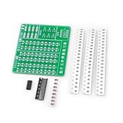 diy smd soldering skill training practice pcb board kit for (para arduino)