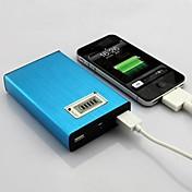 universal 20000mah høykapasitets ekstern batterypower bank lader for iPhone 6/6 pluss / 5 / 5s / samsung s4 / s5 / Note2
