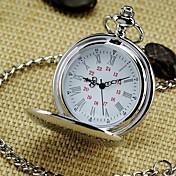 Hombre Reloj de Bolsillo Aleación Banda Vintage Plata / SODA AG4
