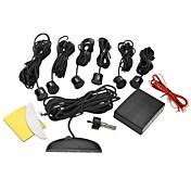 여섯 프로브와 DYW-L061 0.6 인치 LED 디지털 디스플레이 주차 센서 - 블랙