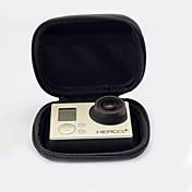 Tilbehør Poser Høy kvalitet Til Action-kamera Gopro 5 Gopro 3 Gopro 3+ Gopro 2 Sports DV PU Leather