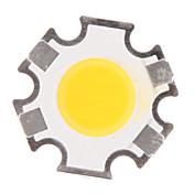 3W COB 280-320LM 3000K는 공정한 판단 LED 칩 (9-11V, 300uA로)