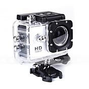 SJ4000 Action Kamera / Sportskamera 12 mp 4000 x 3000 pixel Anti-Sjokk / Vanntett / Alt i en 1.5 tommers CMOS 32 GB Engelsk / Fransk /