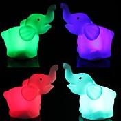 LED Night Light Vanntett Batteri PVC 1 Lampe Batterier Inkludert 8.0*5.0*4.0cm