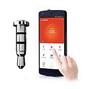 3,5 mm para auriculares Jack de llave inteligente Atajos de enchufe del polvo para Samsung Galaxy i9500 S5 I9600/S4