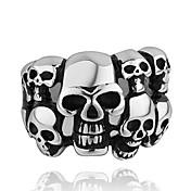 Fashion Many Skull Shape Men's Statement Ring(1 Pc)