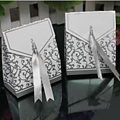 lureme mote fold kobber kort godteri boks (sølv, gull) (100 stk)