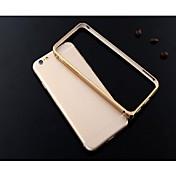 caso de parachoques del marco de aleación de aluminio lr-0851 ultra delgada para el iphone 6 (colores surtidos)