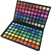 120 colores Ojo Sombras de Ojos Polvo Maquillaje de Fiesta / Mate / Brillo