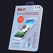 milo blue ray miopía contra protector de pantalla 2.5d 0.33 mm de vidrio templado para samsung i9500 s4