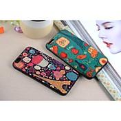 용 아이폰6케이스 / 아이폰6플러스 케이스 패턴 케이스 뒷면 커버 케이스 에펠탑 소프트 TPU iPhone 6s Plus/6 Plus / iPhone 6s/6