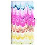 Para Funda Samsung Galaxy Soporte de Coche / con Soporte / Flip / Diseños Funda Cuerpo Entero Funda Gradiente de Color Cuero Sintético