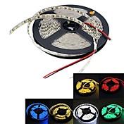 5m 300x3528 SMD llevó la lámpara de la tira flexible solo color dc 12v no impermeable amarillo / blanco / rojo / verde / bule / caliente ip20 blanco