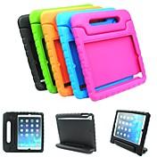 Funda Para Apple iPad Air Carcasas de Cuerpo Completo Un Color Dura Cuero de PU para Apple