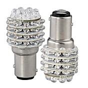 2pcs BA15S (1156) Coche Bombillas LED Dip 45 Luz de Intermitente