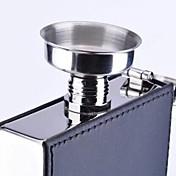 Mini embudo de acero inoxidable para el frasco