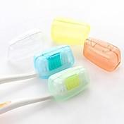 Tannbørstebeholder Vanntett Bærbar Antibakteriell Toalettsaker Mini Størrelse Matbokser 3.8*2.2*2 cm