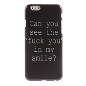 Fuck Letter Design Hard Case for iPhone 6 Plus