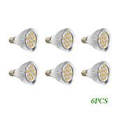 280 lm E14 GU10 Focos LED 16 leds SMD 5730 Blanco Cálido Blanco Fresco AC 220-240V AC 110-130V