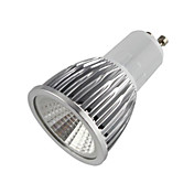 500-550 lm GU10 Focos LED MR16 1 leds COB Blanco Cálido AC 85-265V