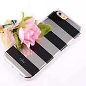 용 아이폰6케이스 / 아이폰6플러스 케이스 패턴 케이스 뒷면 커버 케이스 라인 / 웨이브 소프트 TPU iPhone 6s Plus/6 Plus / iPhone 6s/6