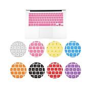 맥북 에어 11.6 인치에 대한 단색 높은 품질의 슬림 키보드 커버 (모듬 색상)