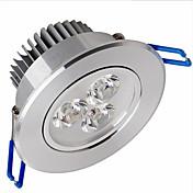 Taklys Panellys Innfelt retropassform 3 leds SMD 2835 Mulighet for demping Varm hvit 500-550lm 3000-3500K AC 220-240V