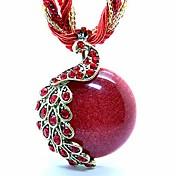 Mujer Acrílico Resina Cobre Ópalo Legierung Colgantes Collar de hebras Collar de medallones Collares Declaración - Acrílico Resina