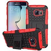 용 삼성 갤럭시 케이스 충격방지 / 스탠드 케이스 뒷면 커버 케이스 갑옷 PC Samsung S6 edge